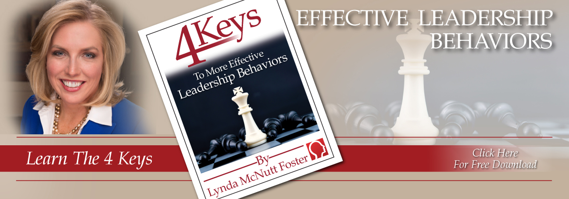 Learn The 4 Keys To More Effective Leadership