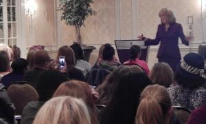 Lynda Foster at Senator Mark Warner's Conference 2