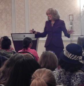 Lynda Foster at Senator Mark Warner's Conference