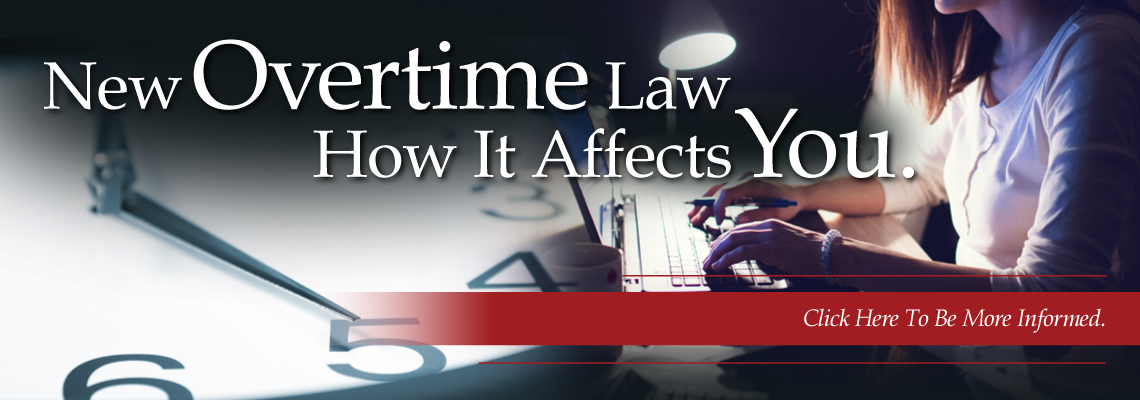 New Overtime Laws