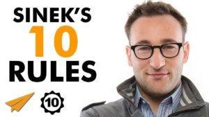 Simon Sinek - 10 Rules of Success