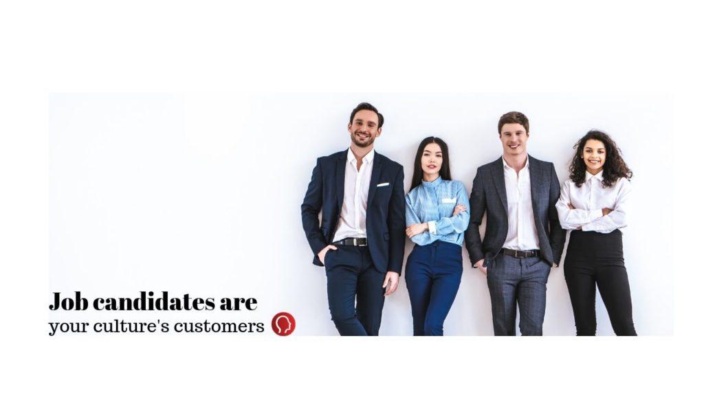 Job candidates, recruitment, customers