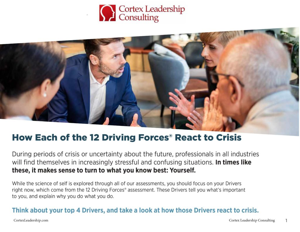 Cortex Reactions to a Crisis - Stress Situations at Work